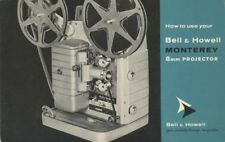 Bell & Howell 253 Ar Monterey Instruction Manual