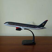 1/200 ROYAL JORDANIAN Boeing Dreamliner 787-8 Airplane Desk Display Model