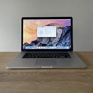 """Apple MacBook Pro 15"""" 2014  2.5ghz i7 16gb 512gb SSD 750m GPU  (2242)"""