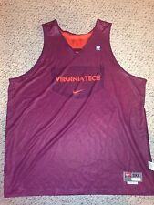 Nike Virginia Tech Hokies Basketball #3 Reversible Practice Jersey *3XL*