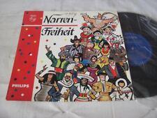 "(7890) Various Artists - Narren Freiheit - 25cm/10"" - 1958 - Trude Herr, Thelen,"