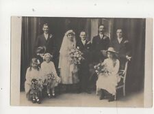 Wedding c 1920s RP Postcard Norman Grut Guernsey 161b