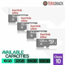 SanDisk Micro SD Card 16GB 32GB 64GB 128GB TF Class 10 Android Nintendo Samsung
