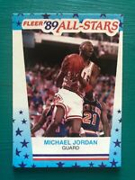 "1989-1990 Fleer MICHAEL JORDAN Bulls ""Last Dance"" NBA Basketball Sticker Card #3"