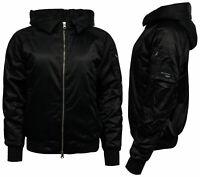 Adidas Originals EQT ADV Womens Hooded Bomber Jacket Black BK2272 Y50A