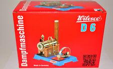 Wilesco 00006 D6 D 6 Dampfmaschine NEUWARE in OVP