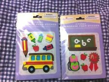 LOT KIDS CHILDRENS School 3D FOAM STICKERS Miss Elizabeth's TEACHERS/CRAFTS