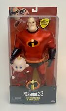 The Incredibles 2 Mr.Incredible and Jack-Jack Doll Action Figure Toy Pack