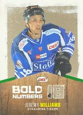 DEL 17/18 Bold Numbers Parallel BN13, Jeremy Williams (Straubing), #26/30