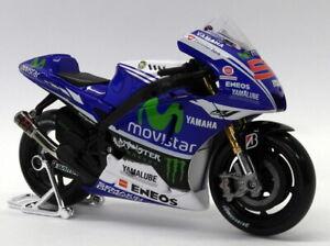 Maisto 1/10 Scale - 31405 Yamaha Factory Racing No.99 Lorenzo Motorbike
