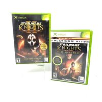 Star Wars: Knights of the Old Republic I & II (Microsoft Xbox) Complete Tested