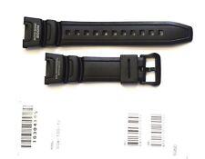 CASIO ORIGINAL WATCH BAND:  10304195   SGW-100 SGW100  BLACK Resin BAND