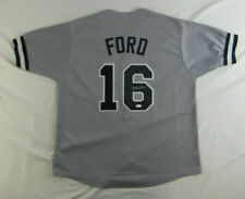 Whitey Ford Signed New York Yankees Jersey (JSA COA)10xAll Star Starting Pitcher