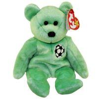 TY - Kicks The Soccer Bear Beanie Baby - MWMT