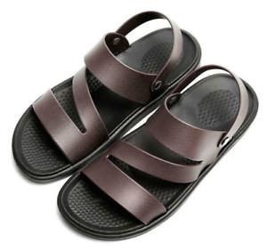 Roman Mens Sports Slippers Shoes Casual Summer Beach Comfort Sandals Flats US10