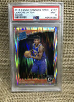 2018-19 PANINI DONRUSS OPTIC SHOCK DEANDRE AYTON RC ROOKIE PSA 9 MINT SUNS HOT📈