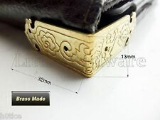 "Brass made:4Pcs High quality ""Luck clouds"" Decorative Jewelry Box Corner Bracket"