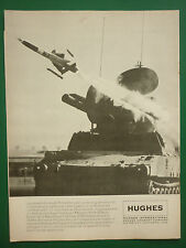 9/1978 PUB HUGHES AIRCRAFT MISSILE ROLAND EUROMISSILE ORIGINAL FRENCH AD