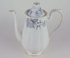 Large Coffee Pot Royal Albert Silver Maple vintage bone china England