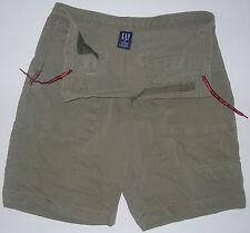 Mens Gap M 32 34 Dark Green Cotton Nylon Shorts