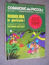 CORRIERE DEI PICCOLI n. 37 - 15/09/1968 - ANNO LX - OTTIMO
