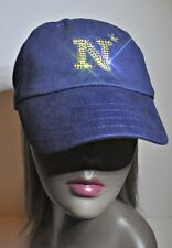 Navy Midshipment Womens Bling Hat Cap Worlds Finest Crystal Rhinestones