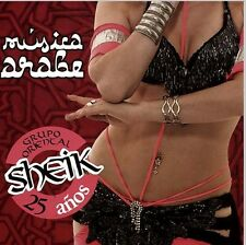SHEIK 25 AÑOS MUSICA ARABE SEALED CD NEW BELLY DANCE ARABIAN MUSIC BELLYDANCE