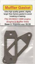 OS BGX-1 3500 Exhaust/Muffler Gasket 2 Piece SET NIP