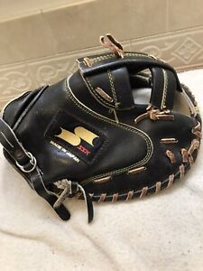 "SSK  DX-1000 35"" Women's Fastpitch Softball Catchers Mitt Right Hand Throw Japan"