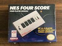 BRAND NEW & SEALED Original OEM Classic Nintendo NES Four Score 4 Player Module!
