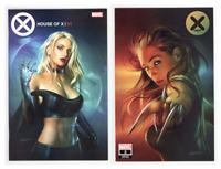 House Of X #1 & X-Men #2 Shannon Maer TRADE Variant Cover Set 1st Print GEMINI