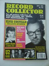 Record Collector 193 (1995) Elvis Costello, U2, Edwin Collins, Rolling Stones