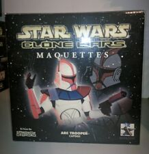 Star Wars Clone Wars Arc Trooper Captain Maquette Gentle Giant #1143 MIB