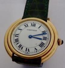 CARTIER Paris, Vendome Mechanical Watch: 18K (750) Gold with Deployant Clasp