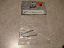 GS Racing Rear Suspension Hinge Pin Pins (2) GSCST054 Storm Plus/RTR Evo Vintage