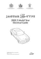 Jaguar S-Type 2003 électrique Guide Manuel réimprimé Peigne Bound