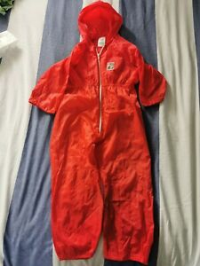 Vintage Boots Red 4-5yrs Waterproof Suit
