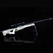 AWP Gun Model AWM Magnum Sniper Rifle DIY Metal Diecast Army Assemble 1:4Scale