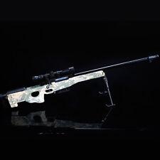 AWP Gun Model AWM Magnum Sniper Rifle DIY Metal Diecast Army Assemble 1:4Scale