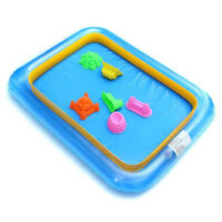 FP- BU_ Funny Square Inflatable Elevated Large Sandbox Tray Castle Stacking Play