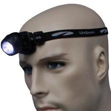 LiteXpress Camping Stirnlampe Kopflampe Liberty 105 Kopfband inkl. 2 Knopfzellen
