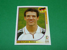 N°320 ZIEGE ALLEMAGNE PANINI FOOTBALL JAPAN KOREA 2002 COUPE MONDE FIFA