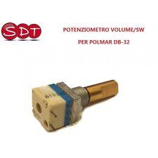 POTENZIOMETRO VOLUME/SW 10K Ohm PER POLMAR DB-32