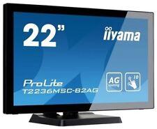 "iiyama ProLite T2236MSC-B2AG  EEK B 54.6 cm (21.5"") 1920 x 1080 Full HD LED"