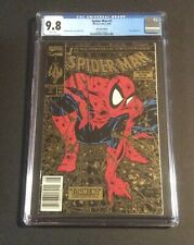Spiderman #1 Gold UPC Walmart Edition CGC 9.8 - Extremely RARE !!!