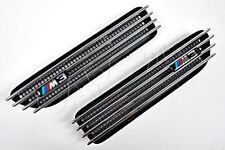 BMW M3 E46 2001-2006 Front PAIR Wing Trims Grills Fenders Side Panel Grilles OEM