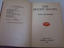 """Antique 1922 """"The Bright Shawl"""" by Joseph Hergesheimer SILVER SCREEN Tie-in"""