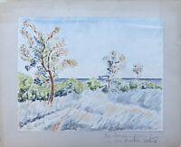 Impressionistin Hilde Schönfelder Sonniger Herbsttag am Meer Otjiwarongo Namibia