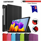 For Samsung Galaxy Tab S7 |S7+ Plus Tablet Folio Smart Leather Flip Case Cover
