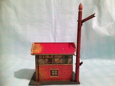 Brimtoy O Gauge Lithographed Sheet Station with Signal